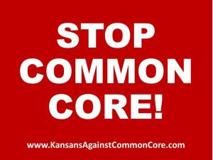 Stop Common Core RW Yard Sign